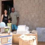 Entrega do kit casa em Santa Rita, 27 março de 2011