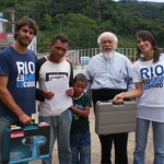 Doação de peças e materiais de trabalho para o gesseiro José Paulo, de São José, em 23 de março de 2011