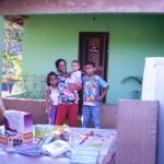 Entrega de kits casa em São José do Vale do Rio Preto, 1 de junho de 2011