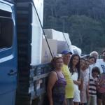 Em São José do Vale do Rio Preto o Move Rio contou com a ajuda e solidariedade de pessoas da comunidade para realizar a entrega dos kits casa, 17 de abril de 2011