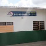 Escola Municipal Pedro Torres Leite, em Santa Rita: tudo novo - pintura e telhas - com contribuição do Move Rio, julho a setembro de 2011