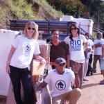 Atuação Move Rio e Minha Ajuda Sua Casa: entregas de kits casa em diversas localidades, junho de 2011