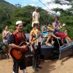 Ação Alívio da Tristeza em Santa Rita: Cia do Quintal realizou atividades para contribuir na recuperação social dos desabrigados e minimizar o trauma das crianças, fevereiro de 2011