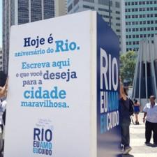 Porque o Rio merece o nosso carinho