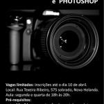 Oficina de Fotografia e Photoshop!