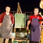 Os chefs Thomas Troisgros & Rafael Costa e Silva